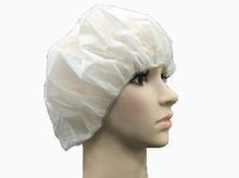 Non woven plastic disposable surgical bouffant cap