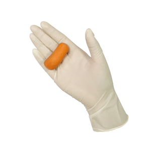 Food grade disposable powdered latex gloves
