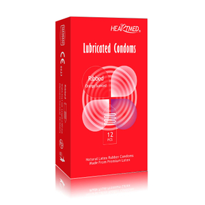 STD prevention extra safe flavoured ribbed condoms