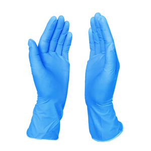 Three types of gloves used in health facilities
