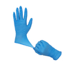 100 count blue disposable nitrile examination gloves for dentisity