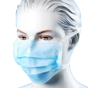 Earloop non woven disposable medical face mask for air pollution