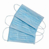 Blue disposable antiviral hygiene non woven face mask