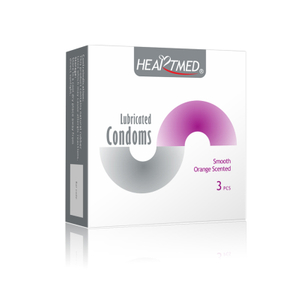 STD prevention lubricated flavoured plain latex condoms