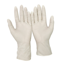 Bulk powder free disposable latex gloves for hospitals use