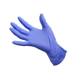 Large biodegradable powder free disposable nitrile gloves for mechanics