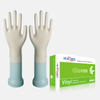 Clear color latex free disposable essentials vinyl examination gloves