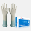 safe touch powder free disposable latex medical gloves