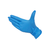 XS Blue Powder Free Disposable Nitrile Gloves for Medical Nurses