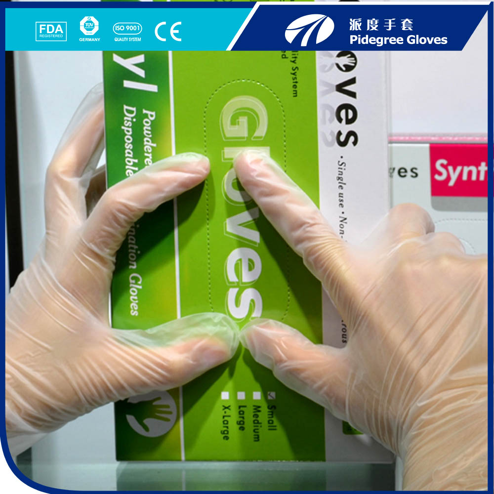 Do you know the way of post-processing disposable gloves ?