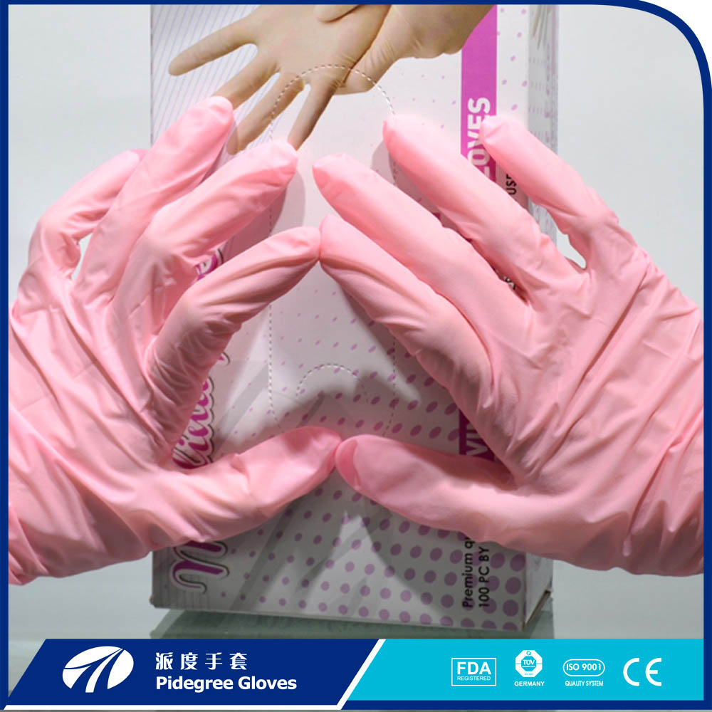 In order to save costs, so gloves should be reused!
